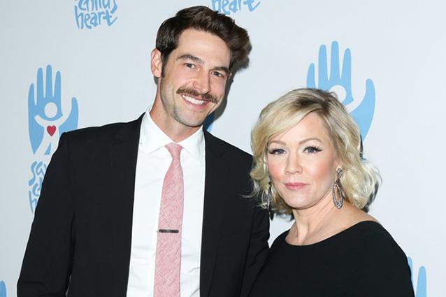 Jennie Garth, l'attrice di Beverly Hills 90210, vuole un figlio dal marito Dave Abrams