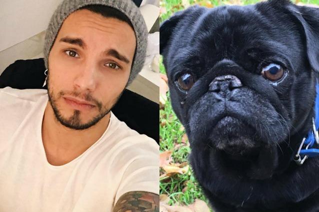 """Marco Carta piange la morte del cane Ettore: """"L'assenza mi dilania, il dolore mi mangia"""""""