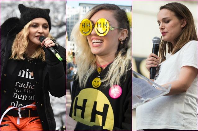 """Da Madonna a Natalie Portman, le star contro Donald Trump: """"Oggi inizia la rivoluzione"""""""
