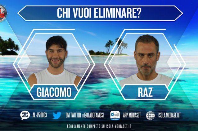 Raz Degan e Giacomo Urtis sono i nominati della settimana, Ceccherini minaccia di uscire