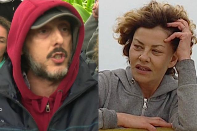"""Isola 2017, Ceccherini litiga con Eva Grimaldi: """"Affogati"""" e lei scoppia a piangere"""