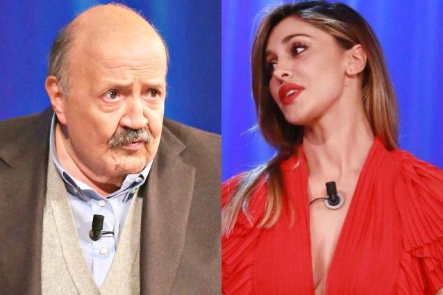 """Maurizio Costanzo: """"Belen? Se ne vada e non rompa più, chi se ne frega dei suoi amori"""""""