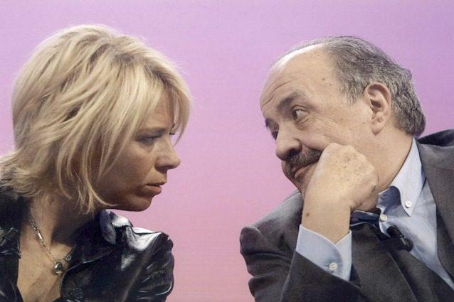 """Maurizio Costanzo: """"Non provo invidia per Maria, sono fiero che sia la regina della tv"""""""