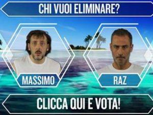 Massimo Ceccherini e Raz Degan sono i nominati