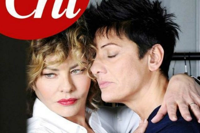 L'amore tra Eva Grimaldi e Imma Battaglia è già in copertina, le foto prima dell'Isola