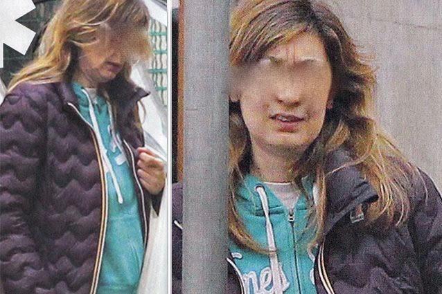 Virginia Raffaele irriconoscibile senza un filo di trucco, ma la donna nelle foto non è lei
