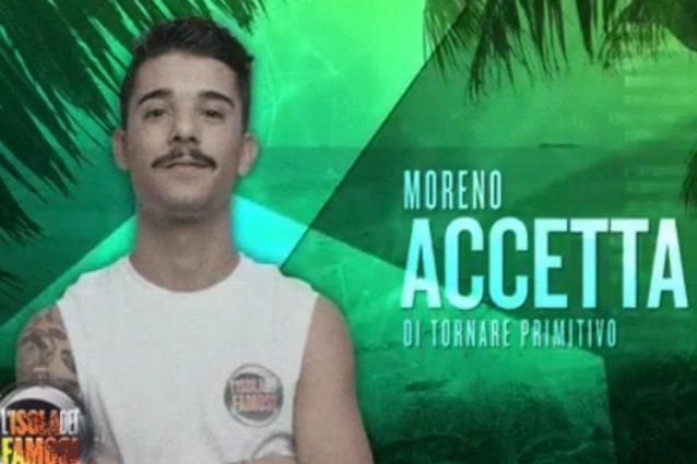 Moreno eliminato dal televoto ma ancora in gara, il rapper sbarca sull'Isola primitiva