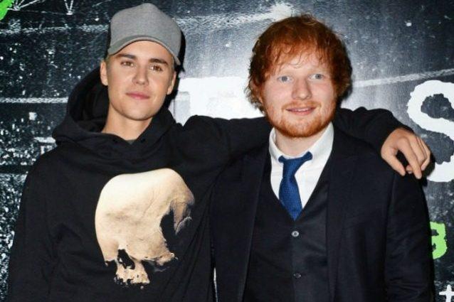 """Ed Sheeran rivela: """"Ho spaccato la faccia a Justin Bieber con una mazza da golf"""""""