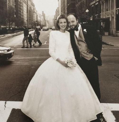 Joe Bastianich con la moglie Deanna Damiano