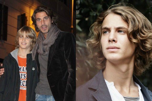 Francesco Liotti ha 19 anni, il figlio di Daniele Liotti è affascinante come il padre