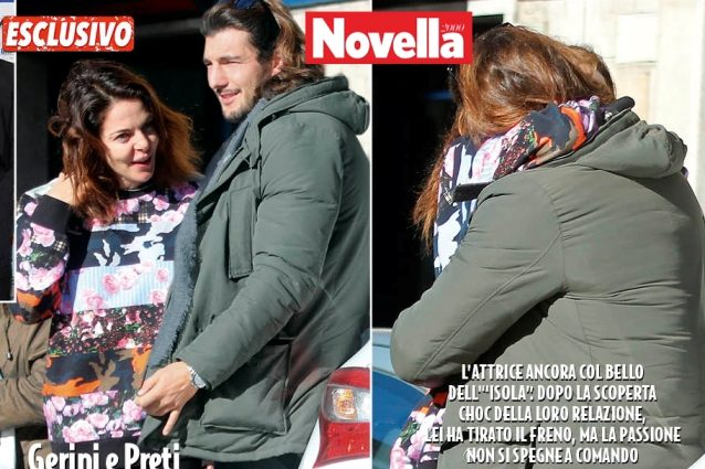 """Claudia Gerini: """"Felice con Andrea ma perseguitata dai fotografi, sono sconvolta"""""""