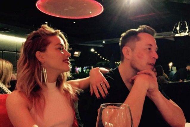 Elon Musk: Amber Heard presenta il nuovo amore