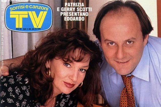 Gerry Scotti con la ex moglie Patrizia Grosso