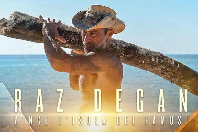 Raz Degan è il vincitore dell'Isola dei famosi 2017