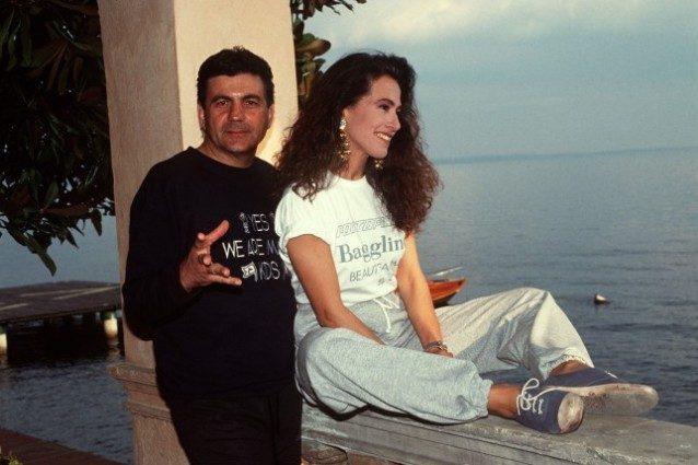 Barbara D'Urso con Mauro Berardi, padre dei suoi figli
