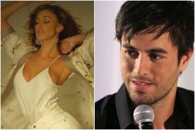 """Belen Rodriguez e la """"dichiarazione d'amore"""" a Enrico Iglesias, lui risponde così"""