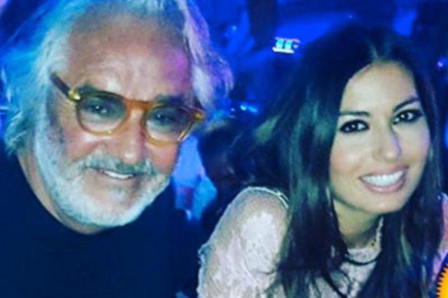 """Flavio Briatore: """"Elisabetta Gregoraci è la mia ricchezza ma smentire la crisi non serve"""""""