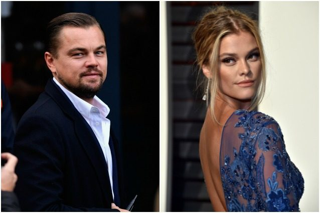 L'attore Leonardo Di Caprio e la modella Nina Agdal