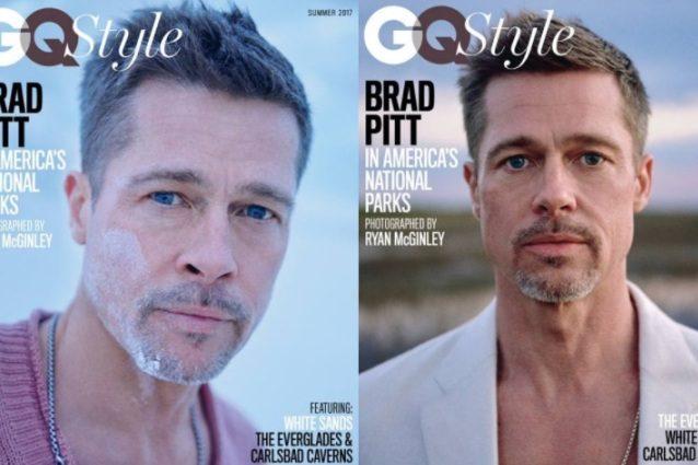 Brad Pitt torna in copertina con il viso più magro che mai, è la prima volta dal divorzio