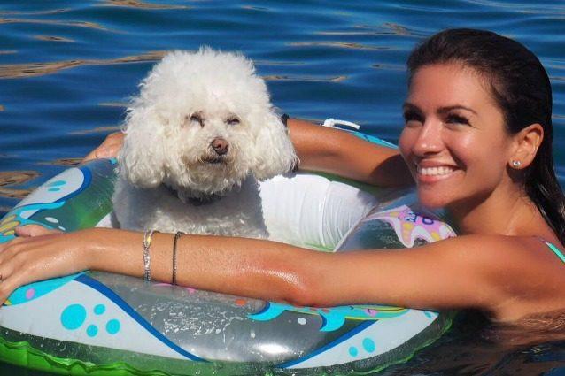 """Alessia Ventura: """"Vorrei diventare mamma, ma la mia cagnolina Shirley è come una figlia per me"""""""