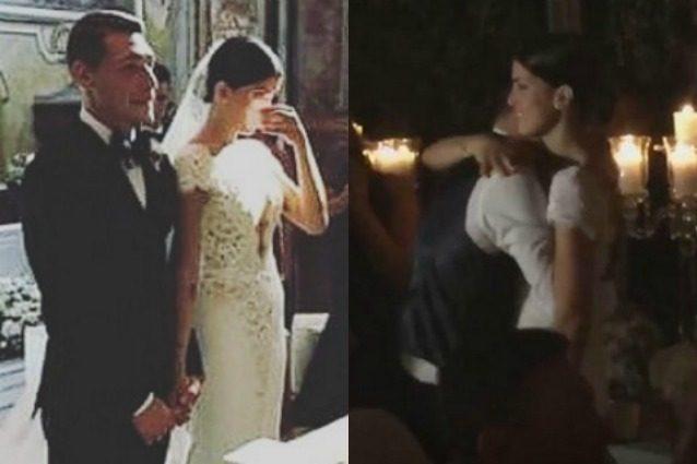 """Le foto """"proibite"""" del matrimonio di Andrea Belotti e Giorgia Duro"""