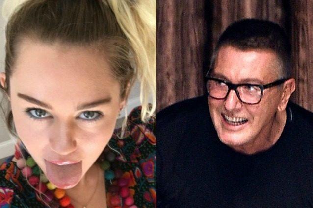 Lite social tra Miley Cyrus e Dolce&Gabbana