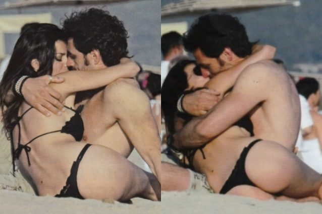 Laura Torrisi e Luca Betti, la passione esplode in spiaggia
