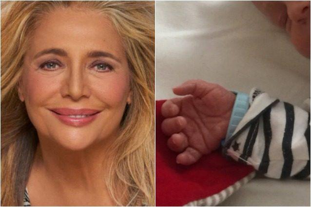 Mara Venier nonna, è nato Claudio: il bimbo è figlio del secondogenito Paolo Capponi