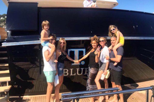 La famiglia allargata di Alessia Marcuzzi.