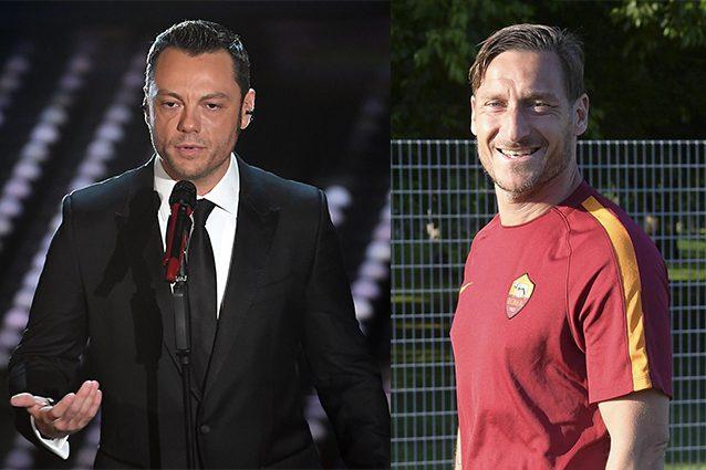 """Tiziano Ferro omaggia Totti: """"Un eroe buono, per Roma ha fatto qualcosa di più dello sport"""""""
