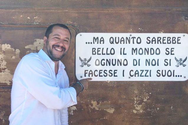 """Parla Salvini dopo le foto della Isoardi con Placidi: """"Non me la sento di dire cosa provo"""""""