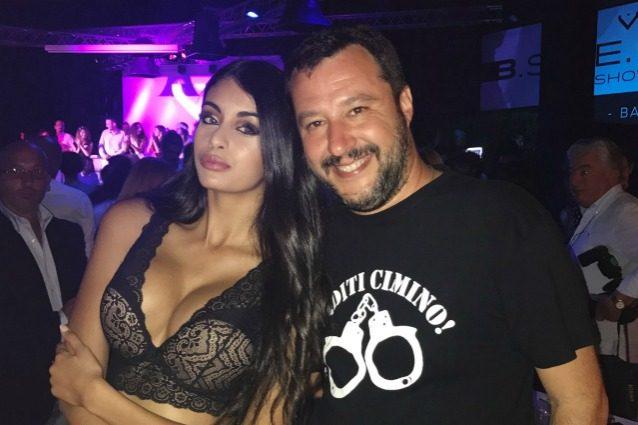 Matteo Salvini molla Elisa Isoardi per una ragazza musulmana?