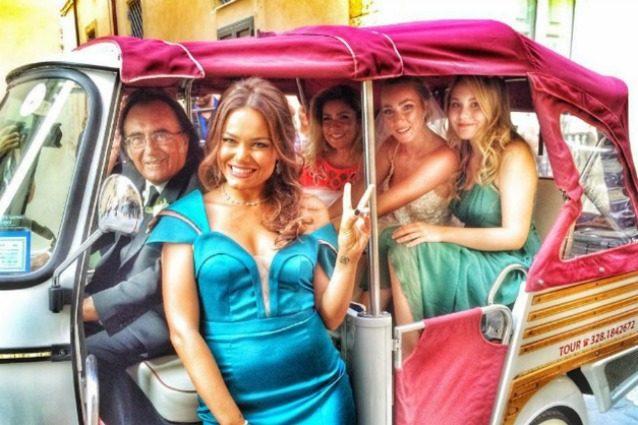 Al Bano e Loredana Lecciso in vacanza, c'è anche Romina Power?