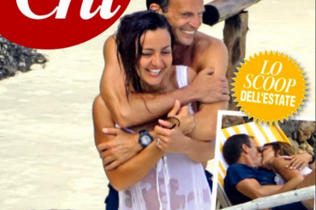 Ambra e Allegri tra baci e abbracci in spiaggia, sono loro la coppia dell'estate?