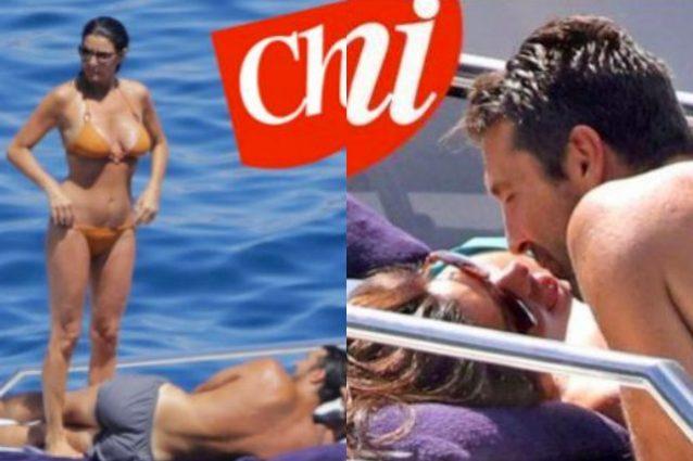 Baci d'estate tra Gigi Buffon e Ilaria D'Amico, fuga d'amore in Toscana per la coppia
