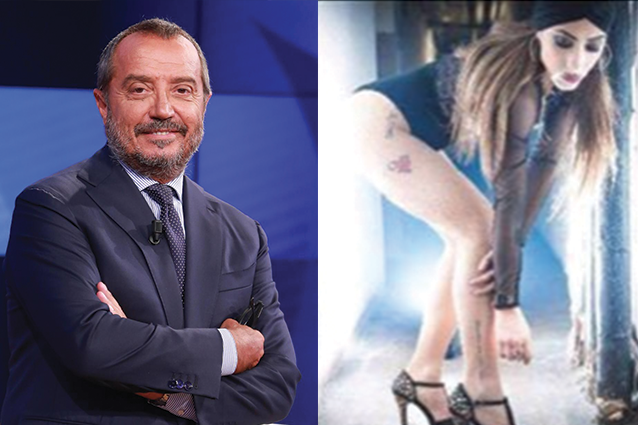 """""""Franco Di Mare lascia la moglie per una barista di Saxarubra"""""""