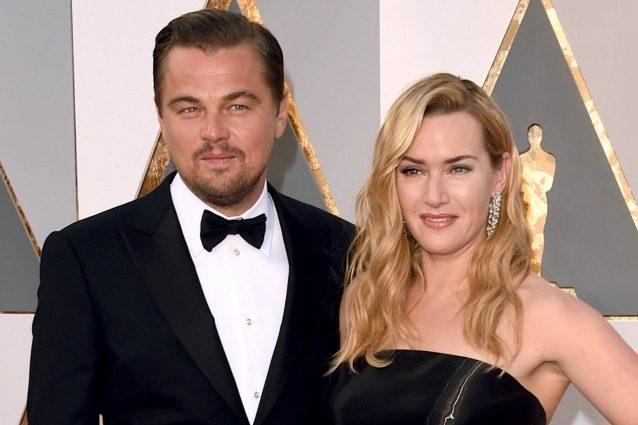 A cena con Leonardo DiCaprio e Kate Winslet, gli attori si mettono all'asta