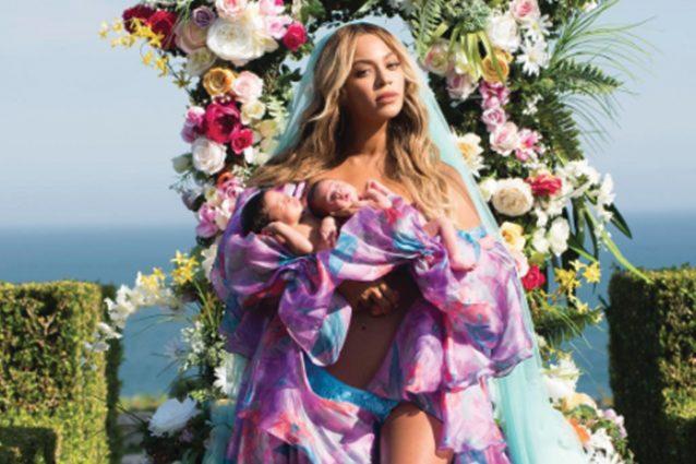 Beyoncé pubblica la prima foto dei suoi gemelli sui social