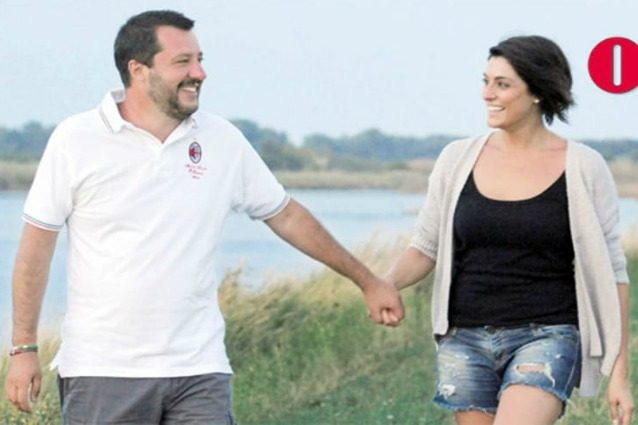 """Salvini sulla crisi con la Isoardi: """"Felice con Elisa, abbiamo problemi come ogni coppia"""""""