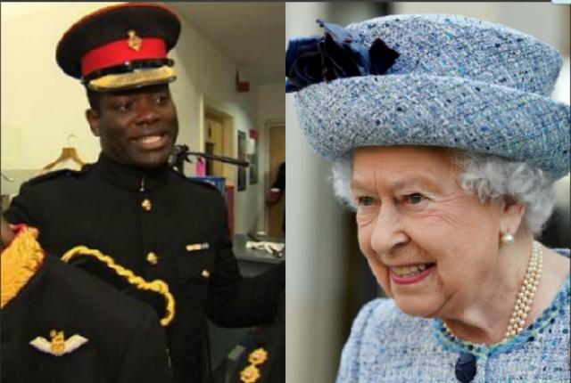 La regina elisabetta nomina il primo scudiero nero nella for La regina elisabetta 2