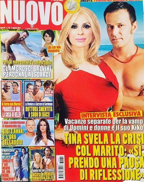 Tina Cipollari e Chicco Nalli: divorzio in vista?
