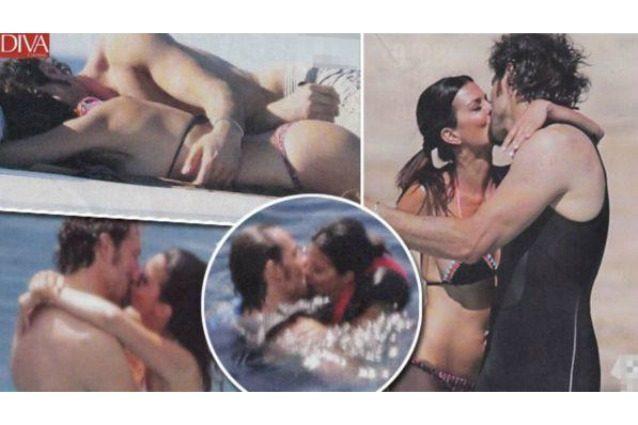 Laura Torrisi e Luca Betti travolti dalla passione, baci bollenti e tenere carezze
