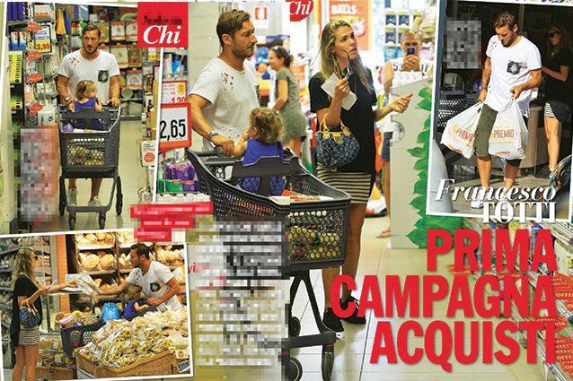 Totti e la 'campagna acquisti' con Ilary Blasi: addio al calcio, sì al mercato