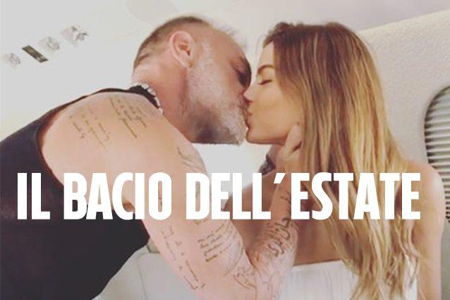 Gianluca Vacchi 'ruba un bacio' ad Ariadna Gutierrez e conferma il gossip tra loro