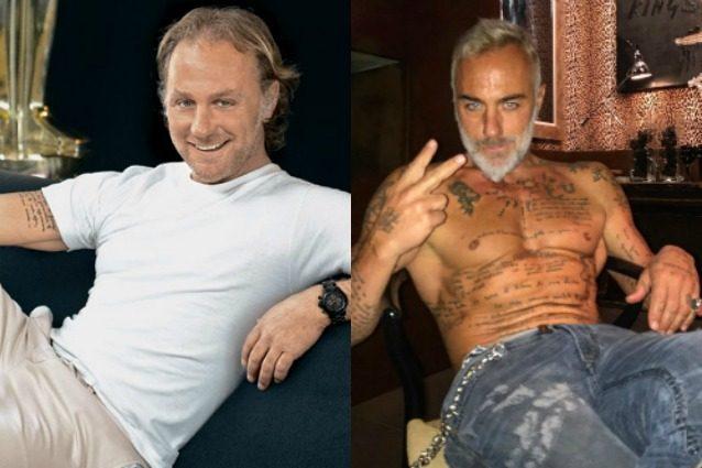 Il prima e dopo di Gianluca Vacchi, com'era da giovane prima di diventare un'icona social