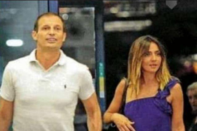 Ambra Angiolini e Massimiliano Allegri, fuga romantica di coppia