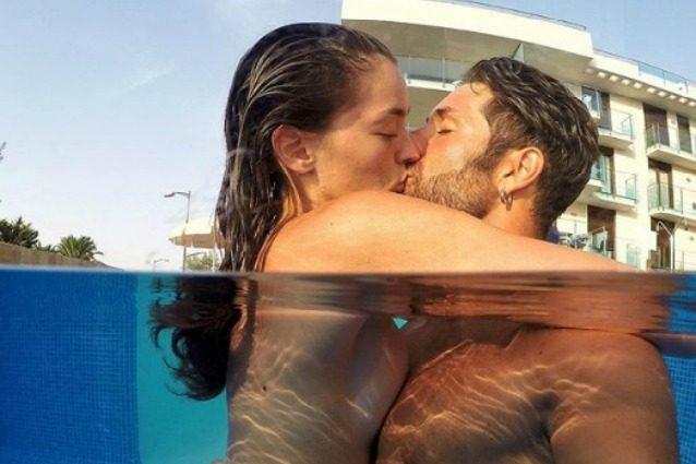 "Claudio D'Angelo e Ginevra Pisani in topless troppo hot per i fan, lui: ""Falsi bigotti"""