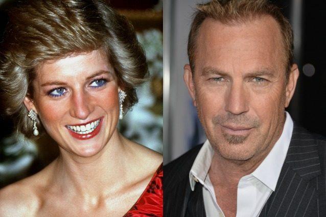 """La rivelazione su Lady Diana: """"Kevin Costner era il suo amante, la voleva nel film The Bodyguard"""""""