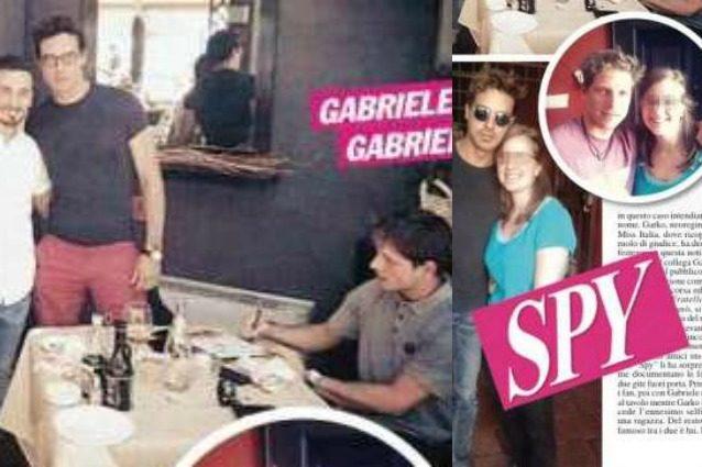 Gabriel Garko in vacanza con Gabriele Rossi, la fidanzata Adua in Irlanda da sola