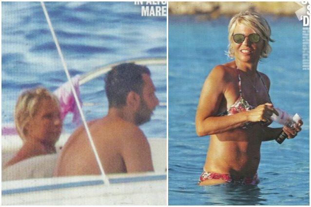 Maria De Filippi si gode l'estate in yacht, con lei c'è il figlio Gabriele Costanzo